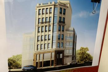 Cho thuê toà nhà mặt phố Trần Đăng Ninh - Cầu Giấy. DT 180m2 * 8 tầng, MT 12m, giá 260 tr/th