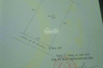 Bán đất 10x19.5m mặt đường Trần Hưng Đạo, giá 4.5 tỷ