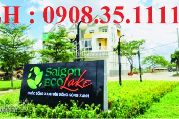 Bán đất Sài Gòn Eco Lake, Đức Hòa giá rẻ: LH: 0908.35.1111