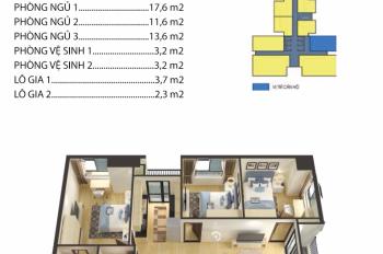 Bán gấp căn góc 94m2 chung cư Housinco Premium, Nguyễn Xiển, giá siêu rẻ
