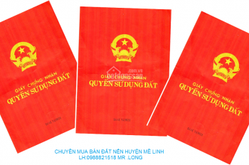 Chính chủ bán biệt thự lô góc đường đôi khu đô thị Quang Minh, Long Việt, Mê Linh, Hà Nội
