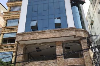 Cho thuê nhà mặt phố Đỗ Quang, Cầu Giấy. DT: 180m2 * 8,5 tầng + 1 hầm, lô góc 2 mặt tiền
