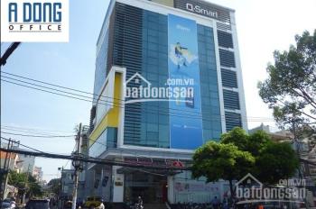 Cho thuê văn phòng quận Bình Thạnh, Phan Đăng Lưu, Qmobile, DT 285m2 145 triệu/th. LH: 0975 022 587
