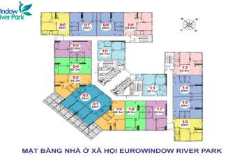 Tiếp nhận hồ sơ mua căn hộ Park 4 Eurowindow River Park, chỉ từ 936tr ở ngay, LH 0813 666 l l l