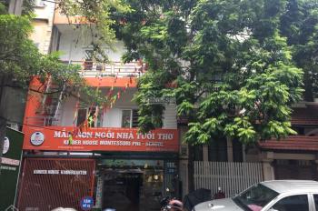 Cho thuê nhà mặt phố Hoàng Ngân 100m2 x 8T, mặt tiền 7m, thông sàn, có thang máy-LH: 0961687961
