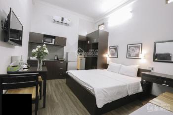 Cho thuê tòa nhà khách sạn, gần sân bay, 33 phòng, 6 lầu, thang máy, 200 triệu/tháng