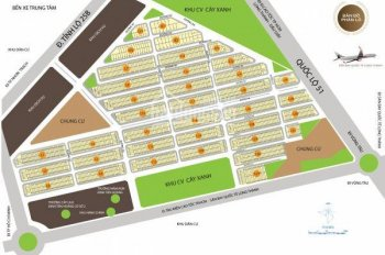 Cần bán 3 nền đất dự án KDC An Thuận Victoria City, cổng chính Sân Bay Long Thành, 0933.791.950