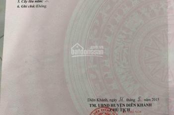 Cần bán kho xưởng tái định cư xã Diên An, Diên Khánh đường rộng 12m