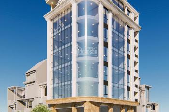 Cho thuê tòa nhà mặt phố Trần Đăng Ninh 180m2, 8 tầng, MT 12m. Giá thuê 260 triệu/th