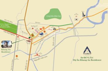 Bán lô A1.10 dự án Khang An Residence. DT 135m2 giá 27tr/m2 thương lượng, rẻ hơn khu vực 2tr/m2