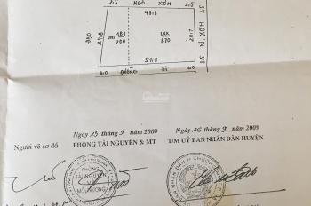 Chính chủ bán 1070m2 đất thổ cư tại thôn Tiến Văn - xã Hoàng Văn Thụ, Chương Mỹ, HN, 0977935365