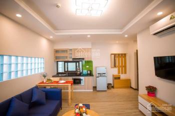 Cho thuê chung cư đủ đồ 1PN, 1PK, 45m2, nội thất hiện đại theo phong cách Châu Âu, ở Trần Thái Tông