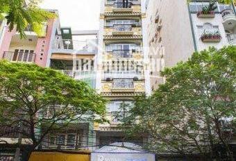 Thật 100%! Tòa nhà 1 hầm, 6 lầu, thang máy, mặt tiền đường 3 Tháng 2, diện tích 80m2 đất, giá 24 tỷ