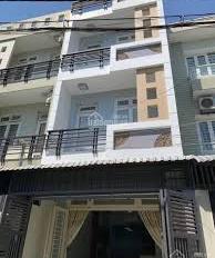 Tô cần bán nhà 3 lầu 2 MT hẻm trước sau đường Bùi Đình Túy, P12, Bình Thạnh. 4,5 x 20m, CN 90m2