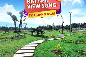 Bán lô đất ở Quảng Ngãi view thương mại diện tích 125m2, đường 19.5m đẹp k tì vết. LH: 0945676676