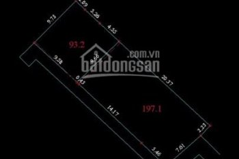 Bán đất ngõ 189 Nguyễn Văn Cừ, Long Biên, HN diện tích: 290m2, mặt tiền: 30m, giá: Liên hệ (SĐCC)