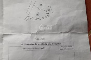 Đất thổ cư Yên Bài, Ba vì, Hà Nội, giá rẻ 924m2 đất ở 400m2, giá 750tr