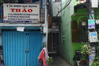 Bán nhà một sẹc đường Tám Danh P. 4, Q8 (sau lưng nhà mặt tiền 1 căn, cách chợ 100m). LH 0909549556