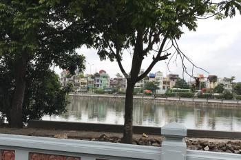 Phúc Đồng, Long Biên, bán mảnh đất mặt hồ, kinh doanh tốt, đường 10m, DT 150m2, MT 7.6m H: TN