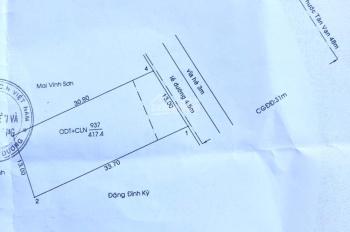 Cần bán miếng đất mặt tiền Mỹ Phước Tân Vạn, phường Định Hòa, TP Thủ Dầu Một, DT 13x30m, TC 100%