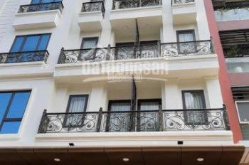 Cho thuê mặt phố Đỗ Quang, Trung Hòa, Cầu Giấy 77m2 x 6T MT 6m, giá 57tr/th thang máy, thông sàn