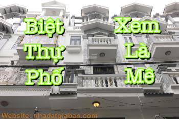 Bán biệt thự phố 60m2 nằm trong khu đồng bộ ngay đường Nguyễn Oanh phường 6 Gò Vấp