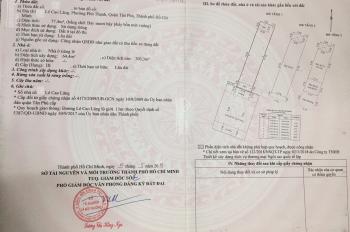 Hot! Bán nhà mặt tiền đường Lê Cao Lãng, P. Phú thạnh, Tân Phú, 4.1x19m, đúc 3 tấm. Giá 7,8 tỷ TL