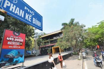 Bán nhà mặt phố Phan Kế Bính, lô góc, ô tô đua nhau, KD sầm uất, 9.7 tỷ