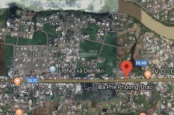 Bán nhanh lô đất 700m2 mặt tiền đường 23/10, Diên An, Diên Khánh thích hợp mở gara và kho xưởng
