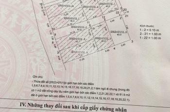 Chính chủ bán đất thôn Viên Ngoại, Đặng Xá, Gia Lâm, Hà Nội, mảnh đất vuông vắn, mặt tiền 5m
