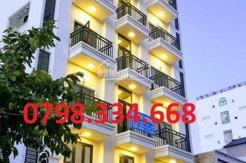 Cho thuê khách sạn MT Bùi Thị Xuân, Bến Thành, quận 1, 8x18m 10 lầu 50 phòng - 250 triệu 0798334668