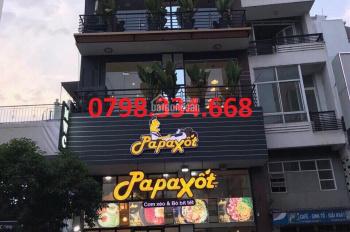 Cho thuê nhà MT Nguyễn Thị Minh Khai - Cách Mạng Tháng Tám, Q.1, DT: 8x20m, 4 tầng, giá: 95tr/th