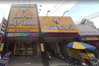 Chính chủ cho thuê nhà mặt tiền Nguyễn Ảnh Thủ, Phường Trung Mỹ Tây, Q12, LH: 0961 50 8033