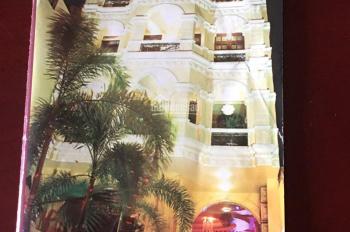 Cho thuê tòa nhà dân cư kết cấu hoàng gia lớn nhất Q. 4 (9x34m), hầm 7 tầng, thang máy, 250tr/th