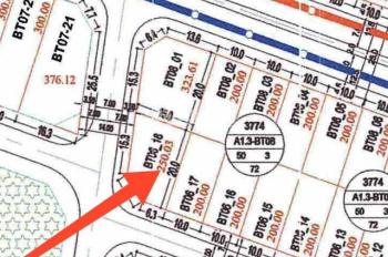 CC bán cắt lỗ 1,5 tỷ lô đất biệt thự góc view hồ khu đô thị Thanh Hà Hà Đông, 0977653868
