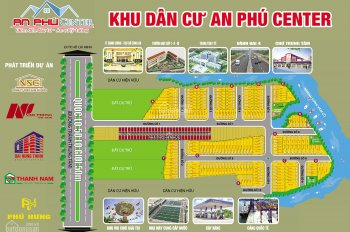 Chính chủ cần bán đất nền An Phú Center, Cần Đước, Long An