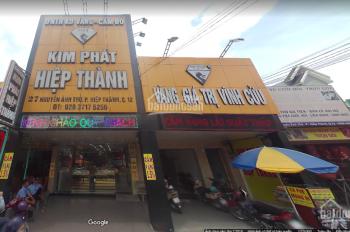 Chính chủ cho thuê nhà mặt tiền Nguyễn Ảnh Thủ, P. Trung Mỹ Tây, Q12, LH 0961 50 8033 Toàn