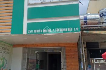 Cho thuê nhà nguyên căn mặt tiền: 857A Đường Nguyễn Ảnh Thủ, Phường Tân Chánh Hiệp, Q12