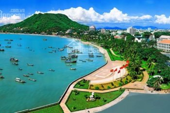 Bán lô đất góc 2 mặt tiền đường Thùy Vân hướng ra biển, 1771.4m2, GPXD 35 tầng