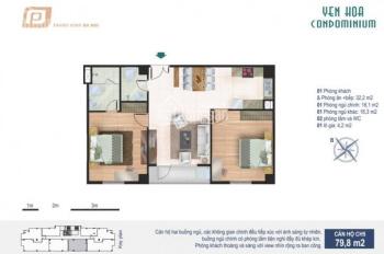 Cho thuê căn hộ CC khu Trung Kính, Cầu Giấy. LH 0398458882