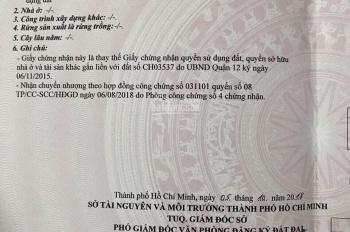 Bán lô đất thổ cư Nguyễn Văn Quá vào 1 trục 50m DT 4,5m x18m, nở hậu 5,3m, giá 3,2 tỷ, bớt lộc
