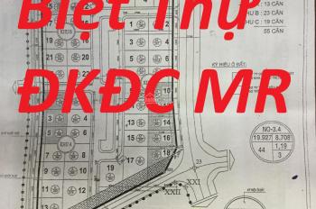 Bán đất biệt thự Đại Kim Định Công Mở Rộng Nơ 3.5, mặt đường 21m giá rẻ