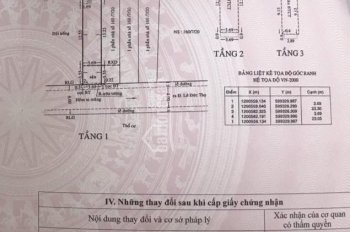 Q. Gò Vấp, P13, giá 4,65 tỷ (3.7m x 23m) - Trệt 2 Lầu, Sân thượng, giếng trời
