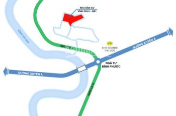 Bán đất giá rẻ khu dân cư Vĩnh Phú 1, Bình Dương chỉ 1.3 tỷ/nền (bao VAT) sổ riêng. LH 0933125290