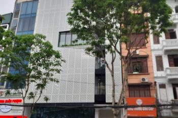 Cho thuê cả nhà mặt phố Hoàng Ngân. Diện tích 70m2 x 5 tầng, mặt tiền 5m, hè rộng