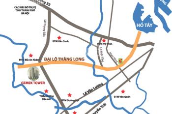 Cho thuê sàn thương mại Gemek Lê Trọng Tấn, gần Hà Đông. DT đa dạng, giá hợp lý, LH 0975438991