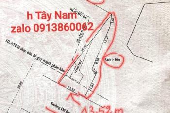 Bán 282,5m2 đất MTĐ Đê Bao Bình Nhâm. Đoạn giữa Dìn Ký và Bình Nhâm 07, KP Bình Thuận, Bình Nhâm