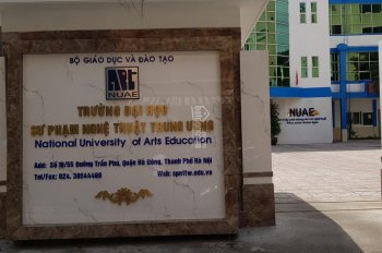Bán nhà 5 tầng cổng trường ĐH Sư Phạm Nghệ Thuật TW, Hà Nội