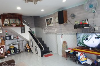 Bán nhà 1 trệt 1 lầu, 4mx12m sổ hồng, hoàn công đầy đủ, đường Quốc Lộ 50, Phong Phú, Bình Chánh