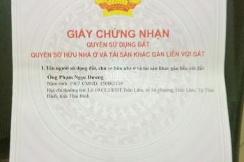 Cần bán mảnh đất 34.2m2 tại phố Thanh Lân, quận Hoàng Mai, giá 43 tr/m2, SĐCC, bao sang sổ